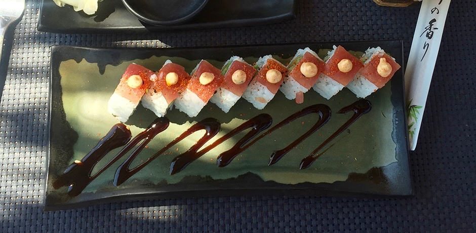 Sushi at Sea Side.