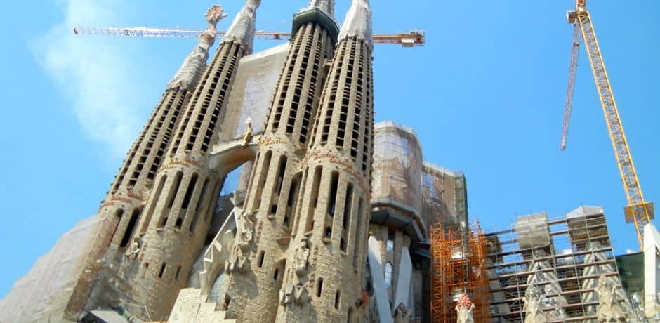 Constantly in a state of construction, La Familia is Gaudi's masterpiece and an icon of Barcelona.