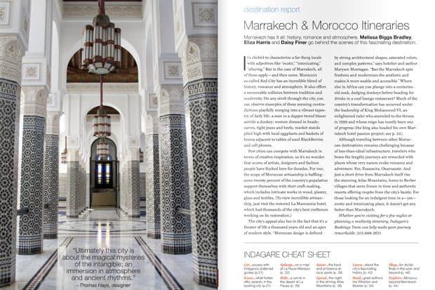 Marrakech & Morocco
