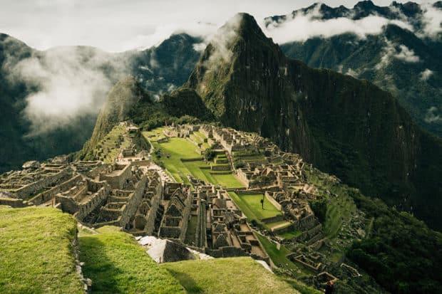 Views over Machu Picchu, Peru.