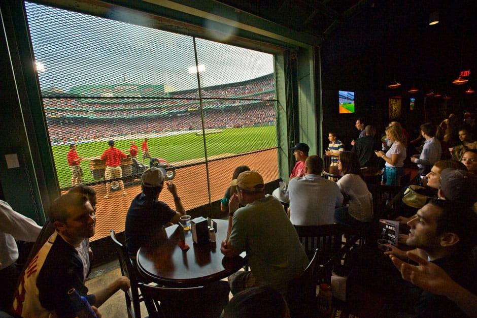 View from Bar - Bleacher Bar, Boston, New England