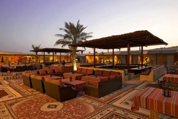 Al hadheerah desert restaurant indagare