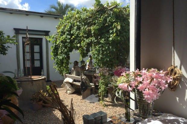 Outdoor Lounge at Garzón, José Ignacio, Uruguay