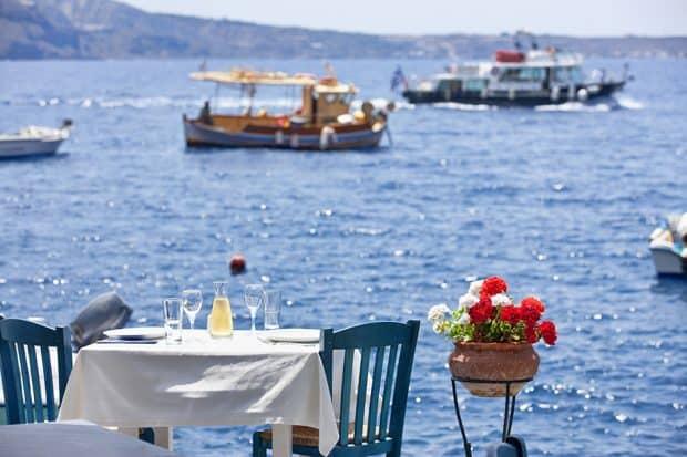 Top Tables Santorini
