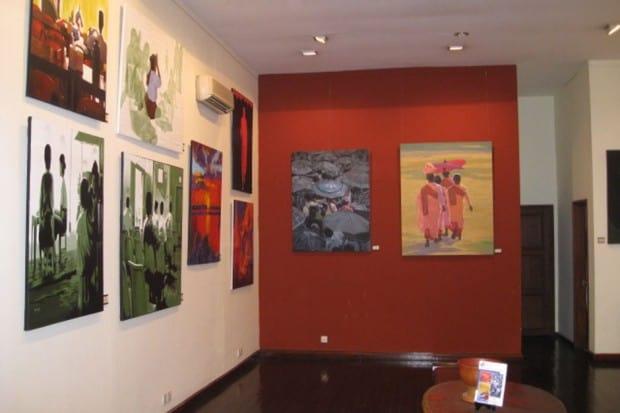 Yangon: River Art Gallery
