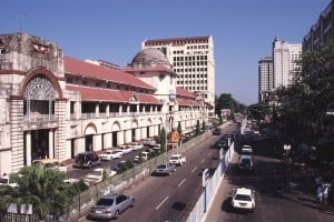Yangon: Scott Market