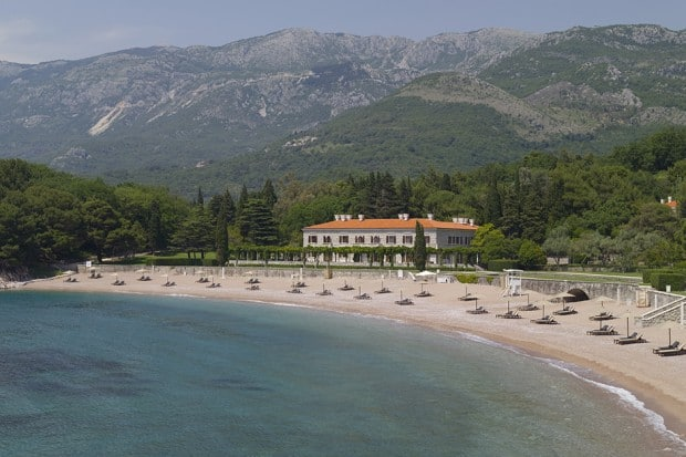 Courtesy Aman Sveti Stefan, Montenegro