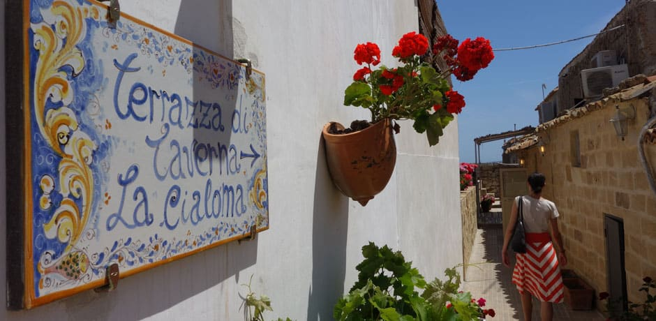 A must during any Sicily trip is lunch at La Cialoma, in the seaside fishing village of Marzamemi. (All photos courtesy Julian Bassermann)