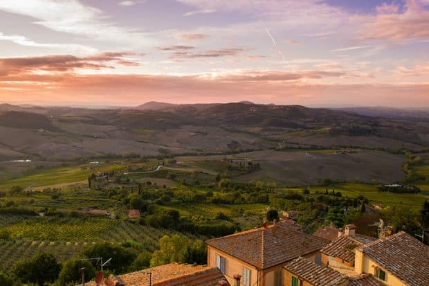 Countryside escapes like to Tuscany (above) provide itineraries that you can return to time and again
