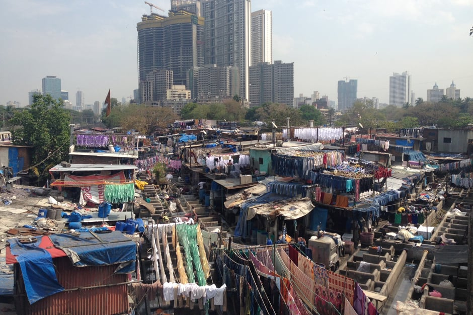 Dhobi Ghat Laundry District