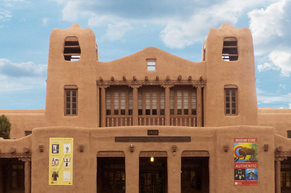 Exterior View - Museum of Contemporary Native Arts,Santa Fe, American West
