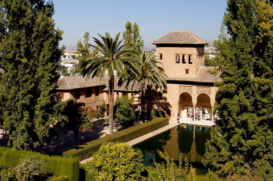 El Partal, Alhambra of Granada, Anadalusia, Southern Spain