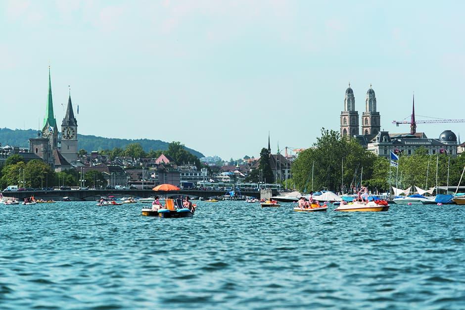 Boat Ride on Lake Zurich