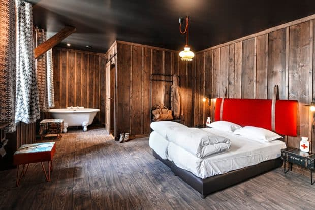 Terminal Neige Refuge combines stylish décor with local history.