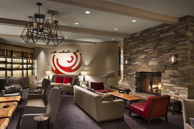 Lounge at The Little Nell, Aspen