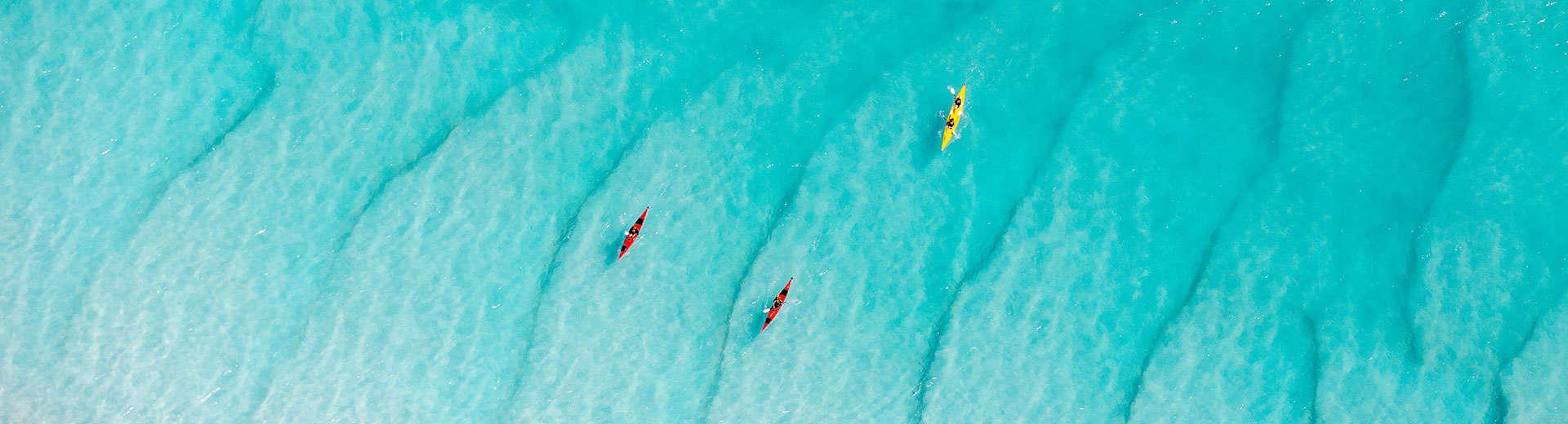 kayaking great barrier reef australia whitsundays