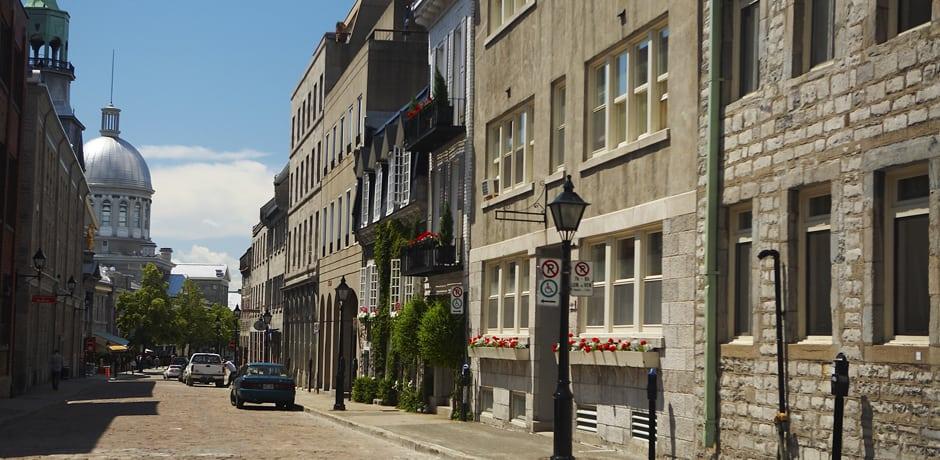 Vieux Montréal, Courtesy Pierre-Luc Dufour