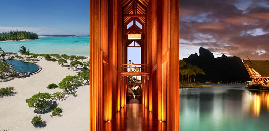 From left: Courtesy The Brando, Four Seasons Bora Bora