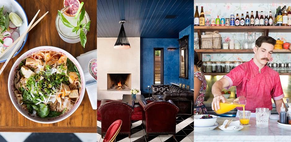 From left: Courtesy Elizabeth St. Cafe, Hotel Saint Cecilia, Elizabeth St. Cafe, Molly Winters