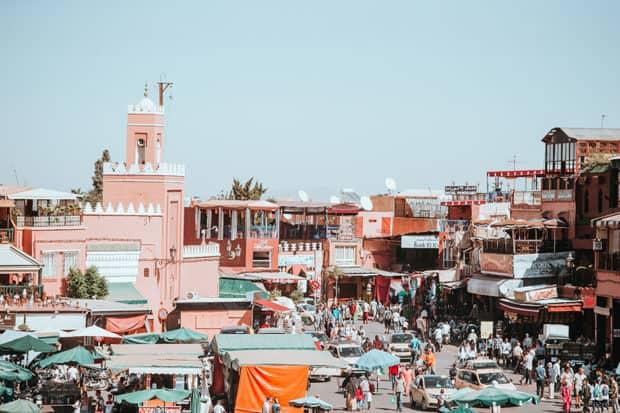Marrakech's souk, Courtesy Annie Spratt