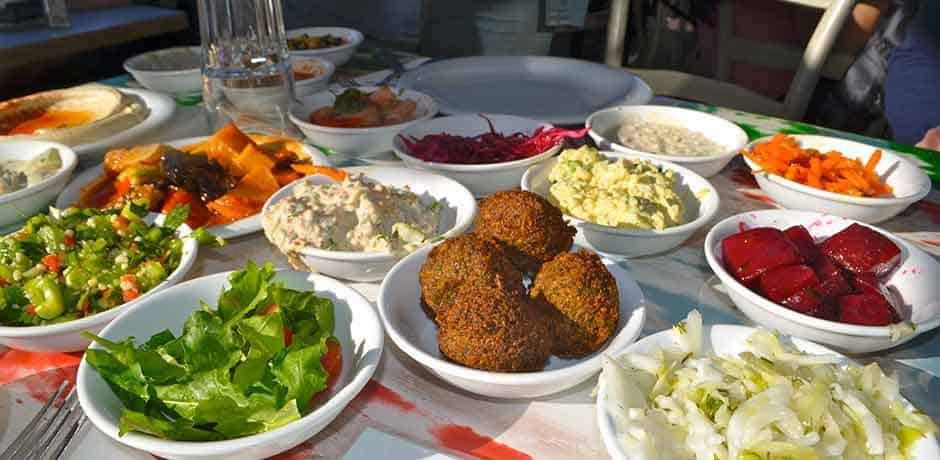 Mezze at Tel Aviv's The Old Man and the Sea