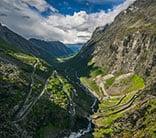norway fjords trollstigen geiranger